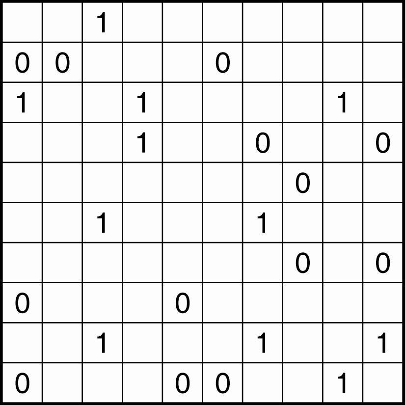 Binaire puzzel