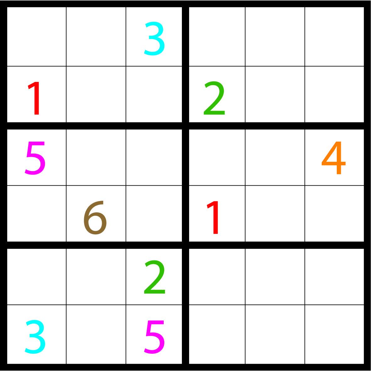 Kinderpuzzel Sudoku