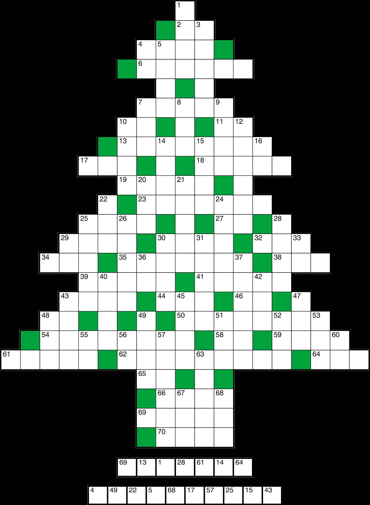 Kerstpuzzel